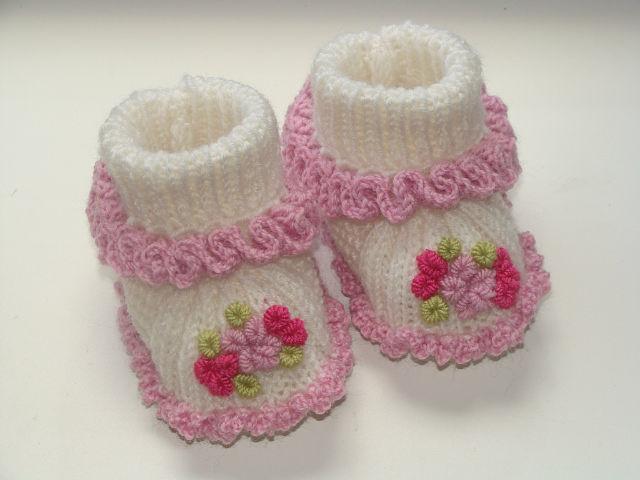 zapatitos para bebe recien nacido en crochet (10)