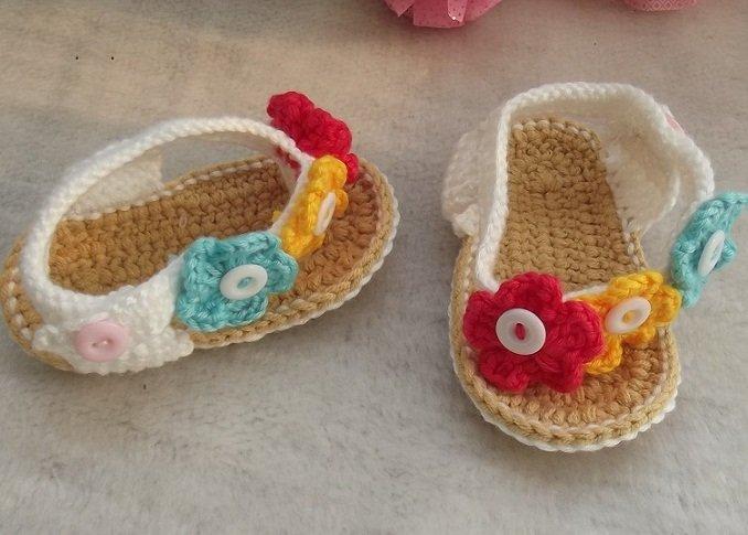 zapatitos para bebe recien nacido en crochet (14)