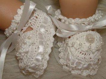 zapatitos para bebe recien nacido en crochet (16)