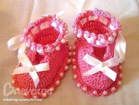 zapatitos para bebe recien nacido en crochet (19)