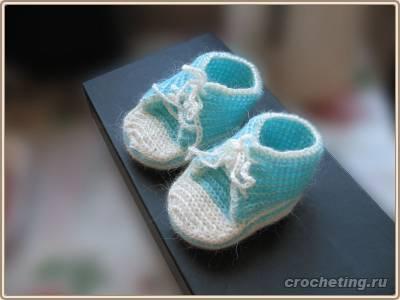 zapatitos para bebe recien nacido en crochet (22)