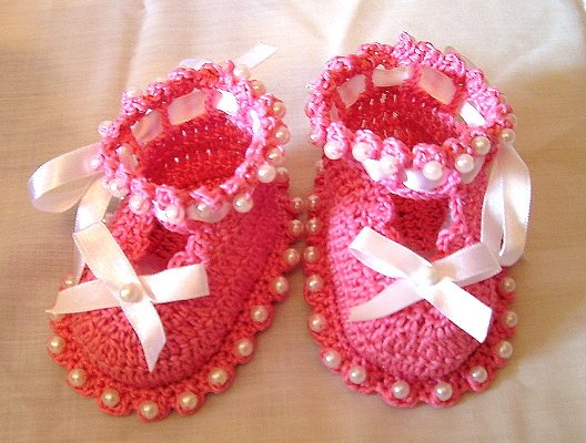 zapatitos para bebe recien nacido en crochet (25)