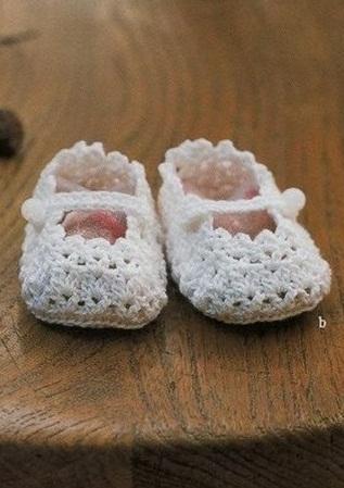 zapatitos para bebe recien nacido en crochet (28)