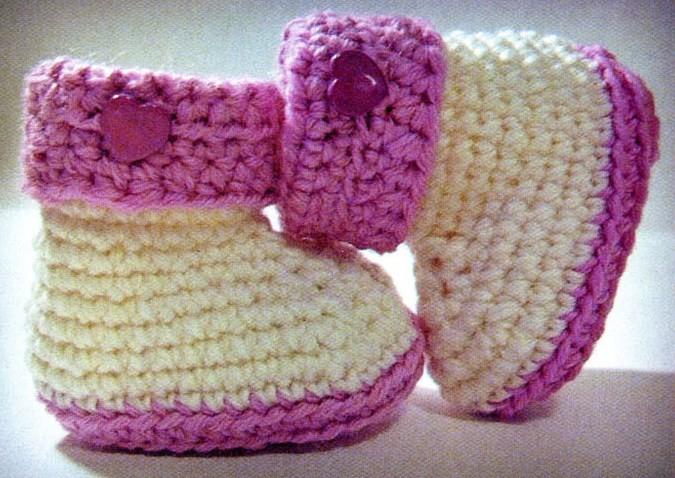 zapatitos para bebe recien nacido en crochet (6)