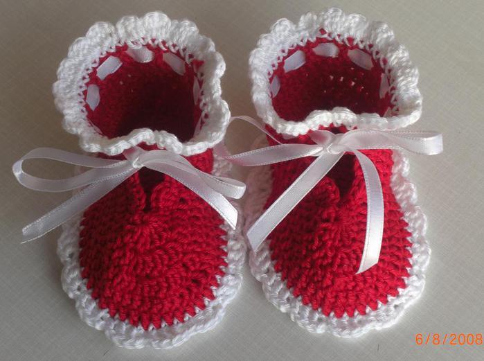 zapatitos para bebe recien nacido en crochet (8)