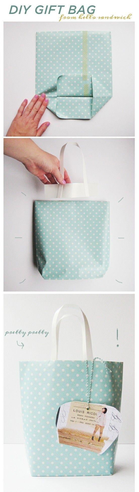 Como hacer una bolsa facil