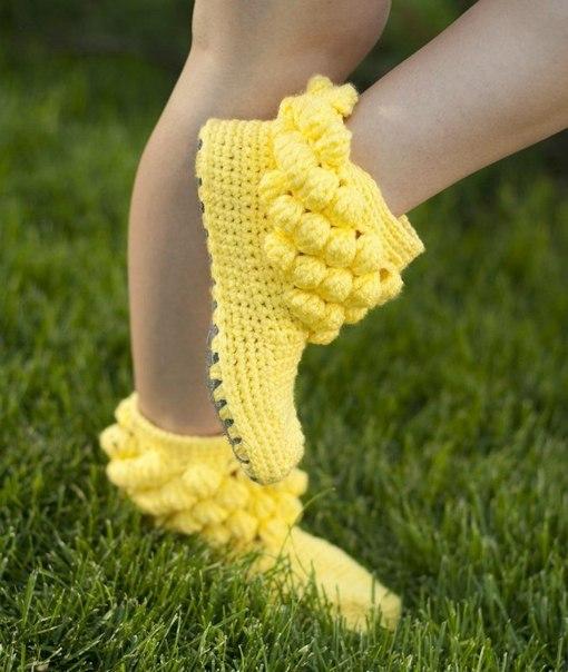 botas tejidas en crochet niñas (3)