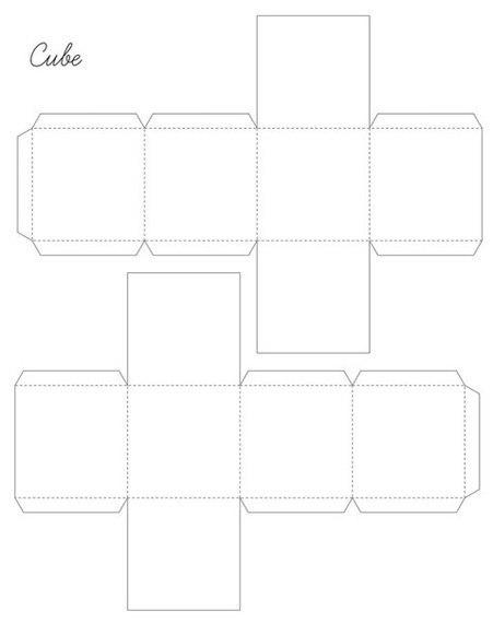 patron para hacer figuras geometricas7