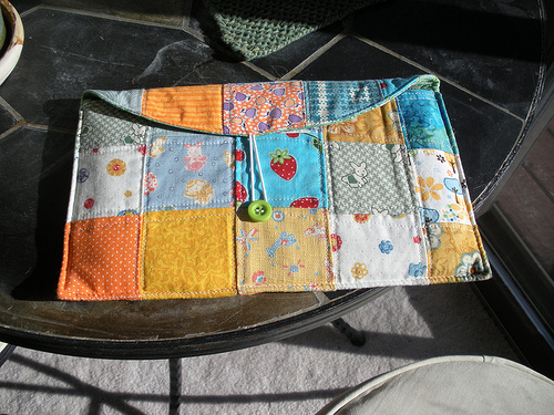 Funda para Kindle patchwork
