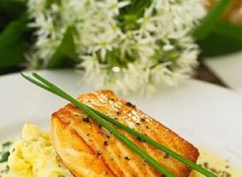 Salmon estilo noruego receta