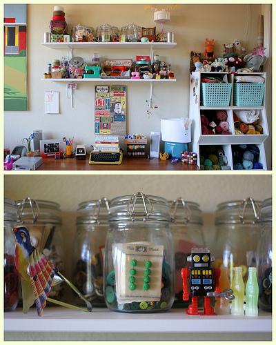 7 espacios en casa para hacer manualidades - Manualidades para la habitacion ...