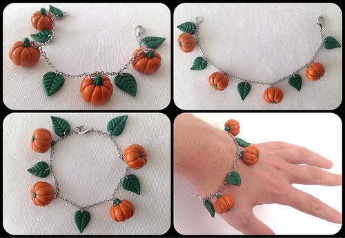 pulsera-de-halloween-con-calabazas