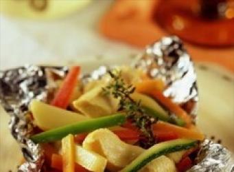 Papillot de verduras