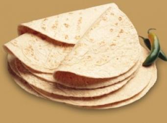 Receta de tortilla de harina clasica