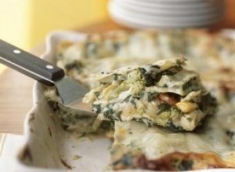 receta de Lasagnas de vegetales