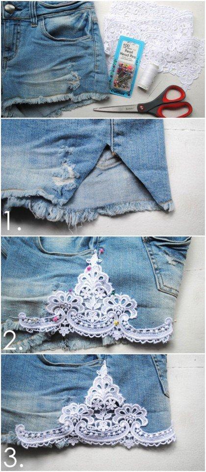 10 ideas de bricolaje para hacer con los pantalones vaqueros viejos3bg (10)