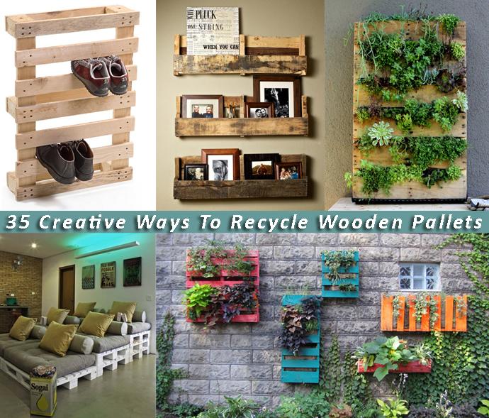 20 Ideas para Reciclar y Reutilizar Tarimas o Pallets Usadas en tu Casa (2)