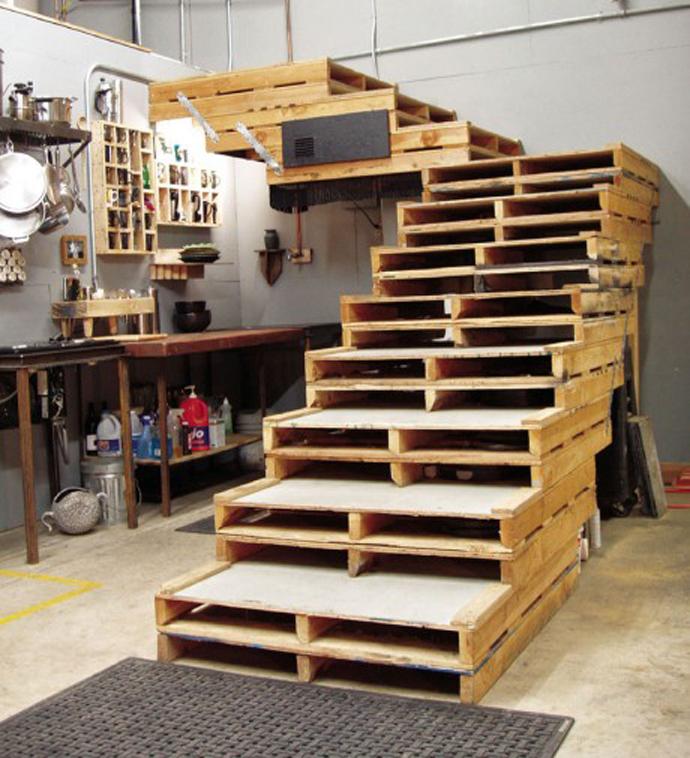 20 creativas ideas para reciclar y reutilizar tarimas o - Ideas para reciclar unos palets ...