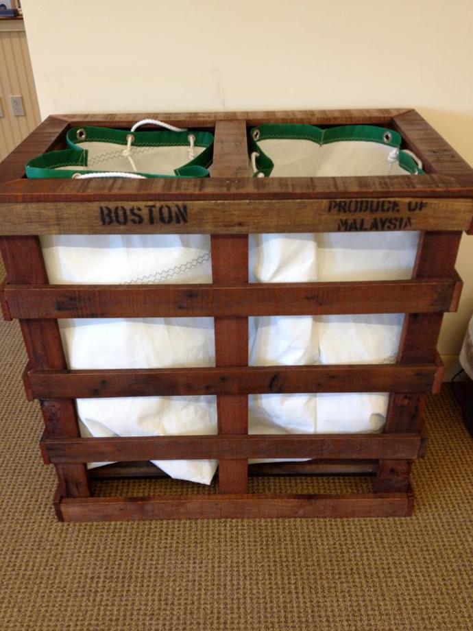 20 Ideas para Reciclar y Reutilizar Tarimas o Pallets Usadas en tu Casa (9)