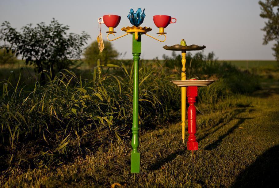 20 ideas para decorar el jardin con materiales reciclables - Material para jardin ...
