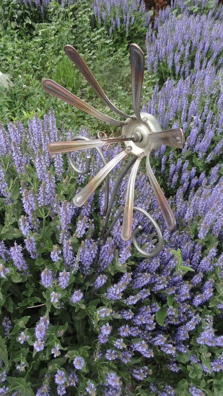 Decoraciones Para el Jardin con Materiales Reciclable (2)