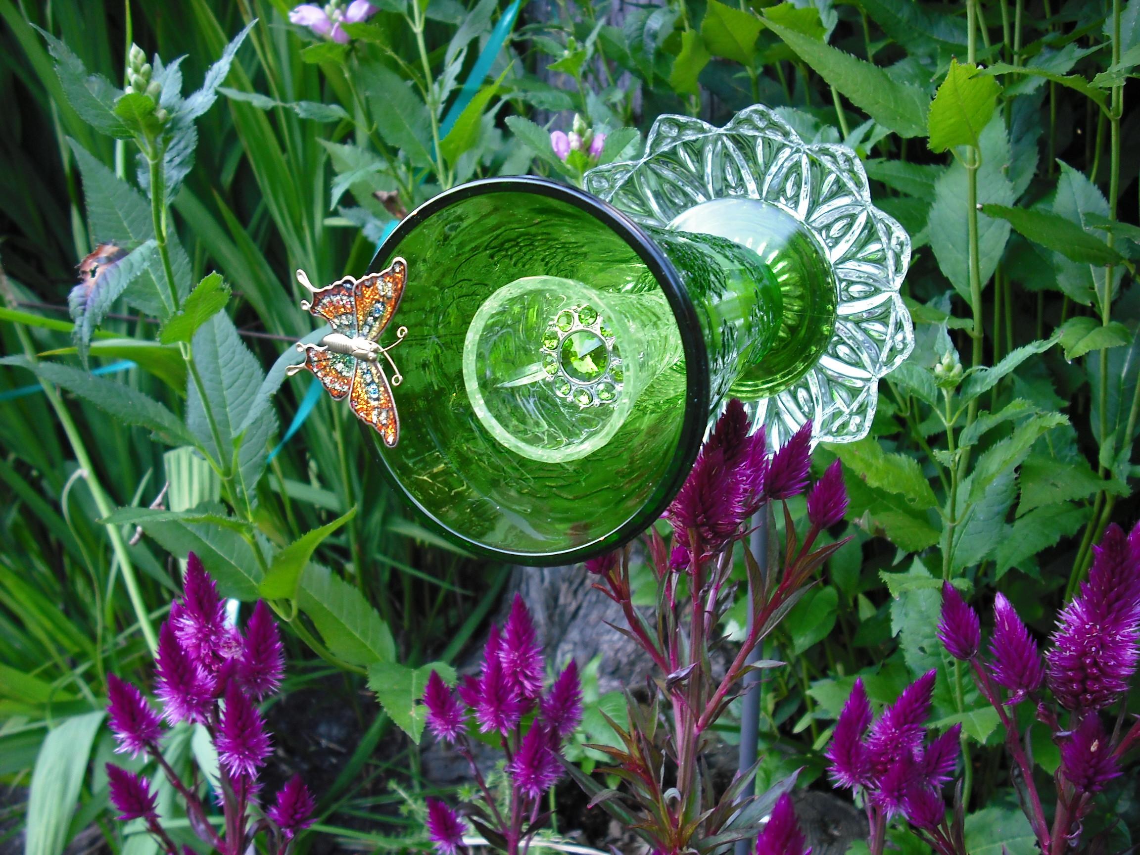 Decoraciones Para el Jardin con Materiales Reciclable (5)