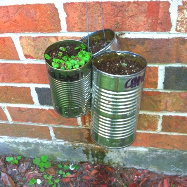 Decoraciones Para el Jardin con Materiales Reciclable (6)