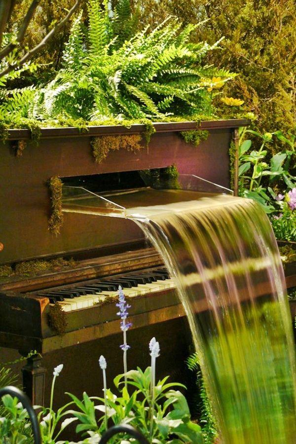 Decoraciones Para el Jardin con Materiales Reciclable (8)