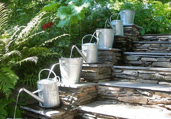 Decoraciones Para el Jardin con Materiales Reciclable (9)