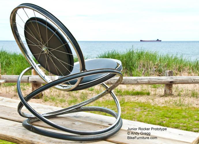 Ideas de Cómo reciclar bicicletas viejas06