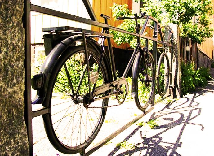 Ideas de Cómo reciclar bicicletas viejas10