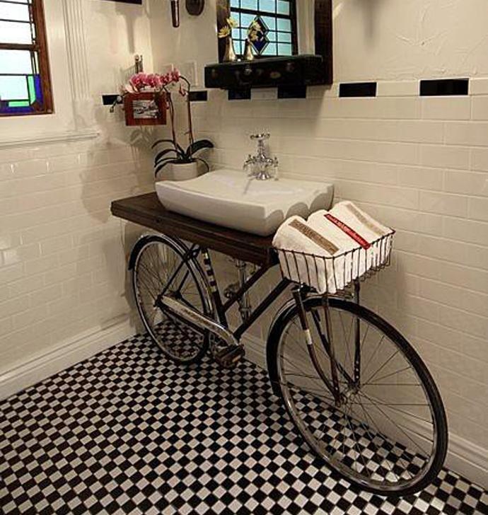 Ideas de Cómo reciclar bicicletas viejas13