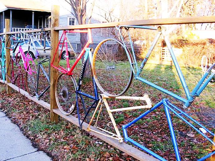 Ideas de Cómo reciclar bicicletas viejas15