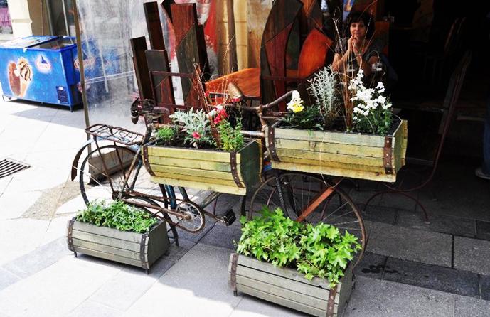 Ideas de Cómo reciclar bicicletas viejas21