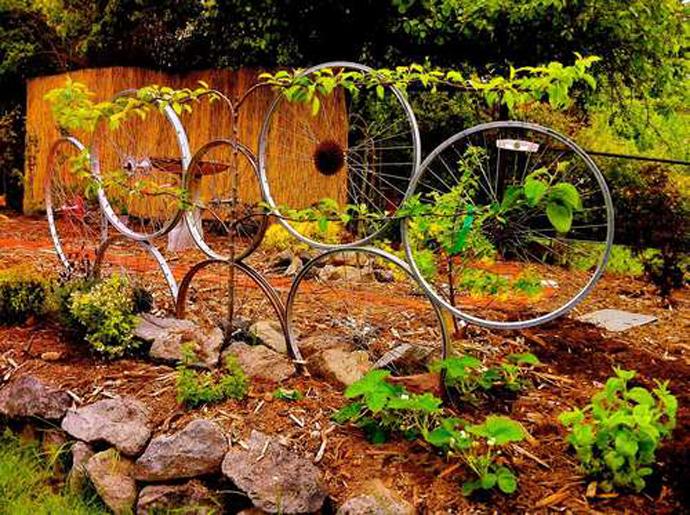 Ideas de Cómo reciclar bicicletas viejas33