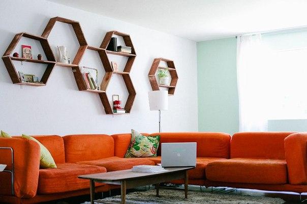 Ideas de estantes con materiales reciclados (10)