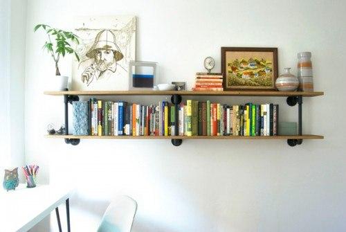 Ideas de estantes con materiales reciclados (2)