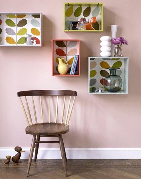 Ideas de estantes con materiales reciclados (8)