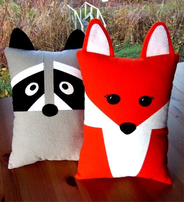 Modelos de almohadas con forma de animales (1)