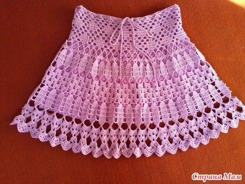 Moldes Para Hacer faldas de Verano Tejido en Crochet (3)