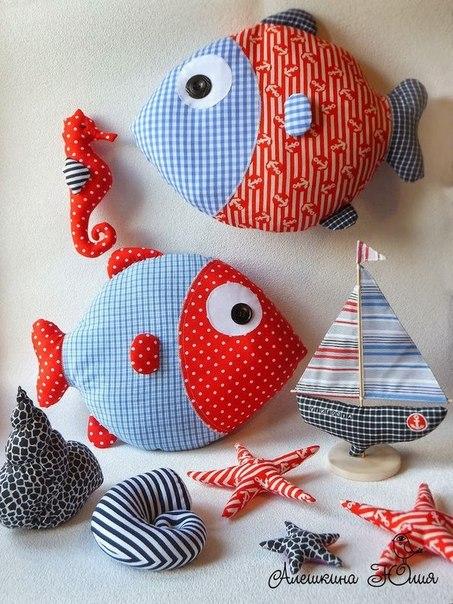 Moldes para hacer peces y ballenas de tela for Peces para criar