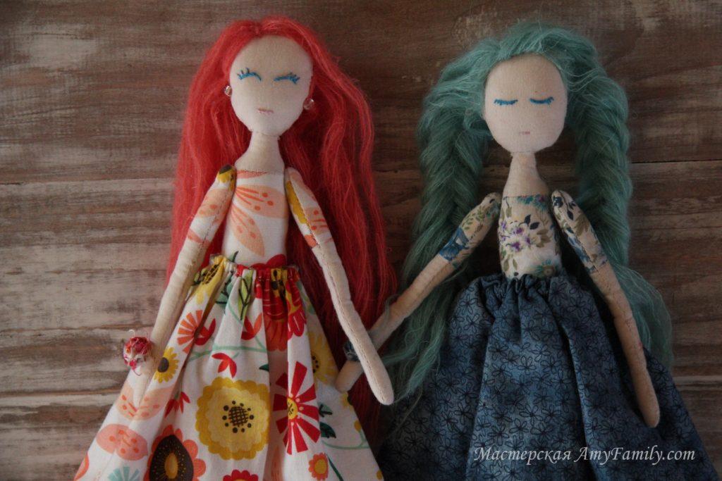 Moldes para hacer una muñeca de tela (1)