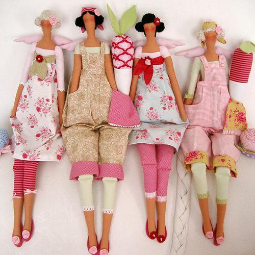 Moldes para hacer una muñeca de tela (6)