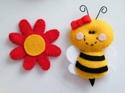abejas fieltro (4)