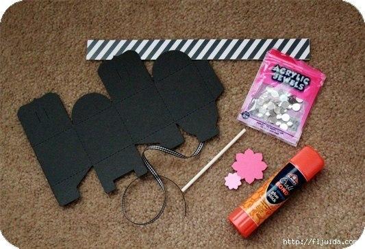molde para hacer cajas de carton para regalo (2)