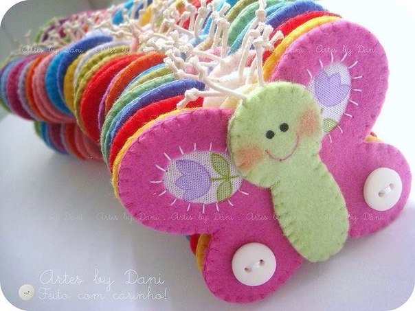 moldes para hacer mariposas de fieltro (1)