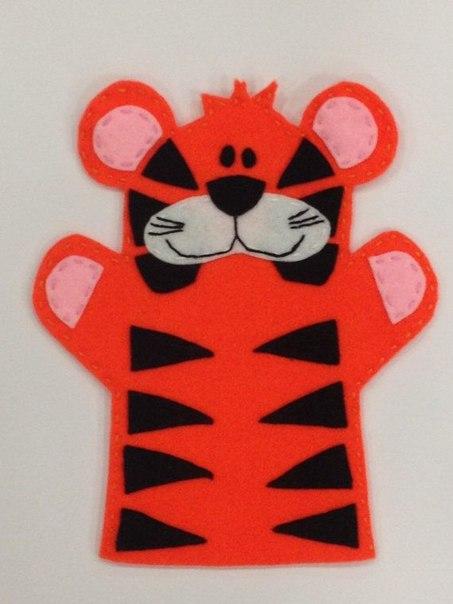 Moldes para hacer tigres de fieltro para imprimir06