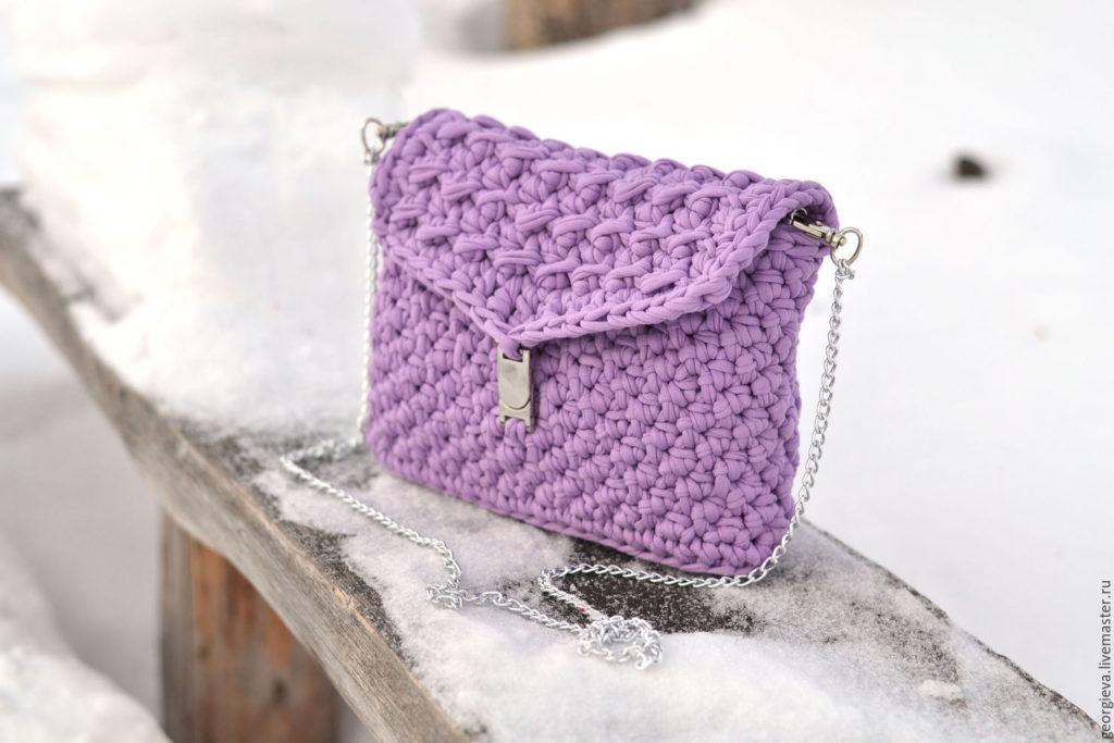 Patrones para hacer bolsos tejidos a crochet (2)