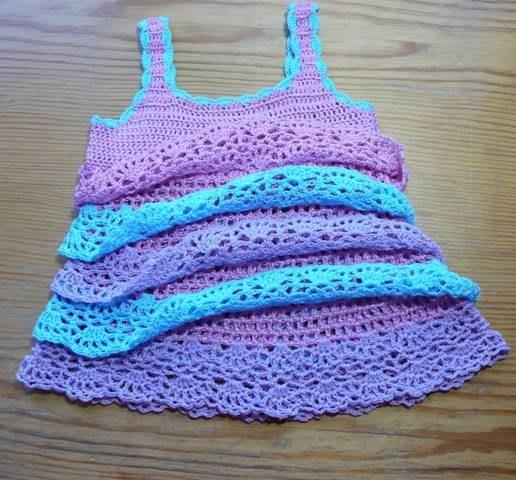 Patrones para hacer una blusa a crochet (2)