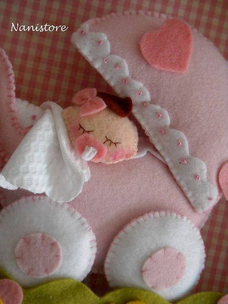carreolas de fieltro para baby shower01